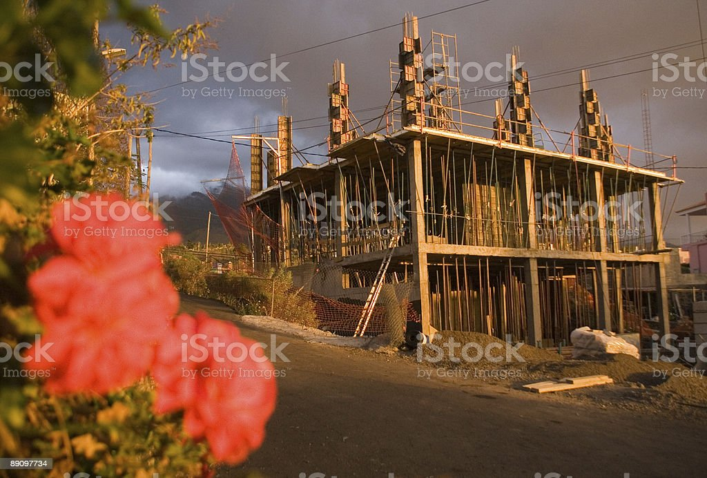 Construction side royalty free stockfoto