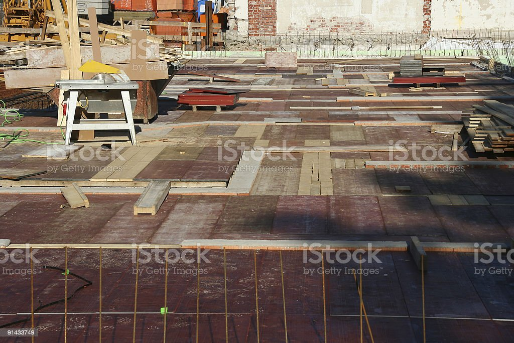 Construction Site 4 royalty-free stock photo