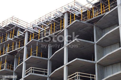 istock construction site building development concrete built structure metal beam 1184513024