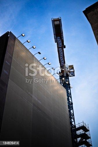 istock Construction Site, Crane in Action 134826414