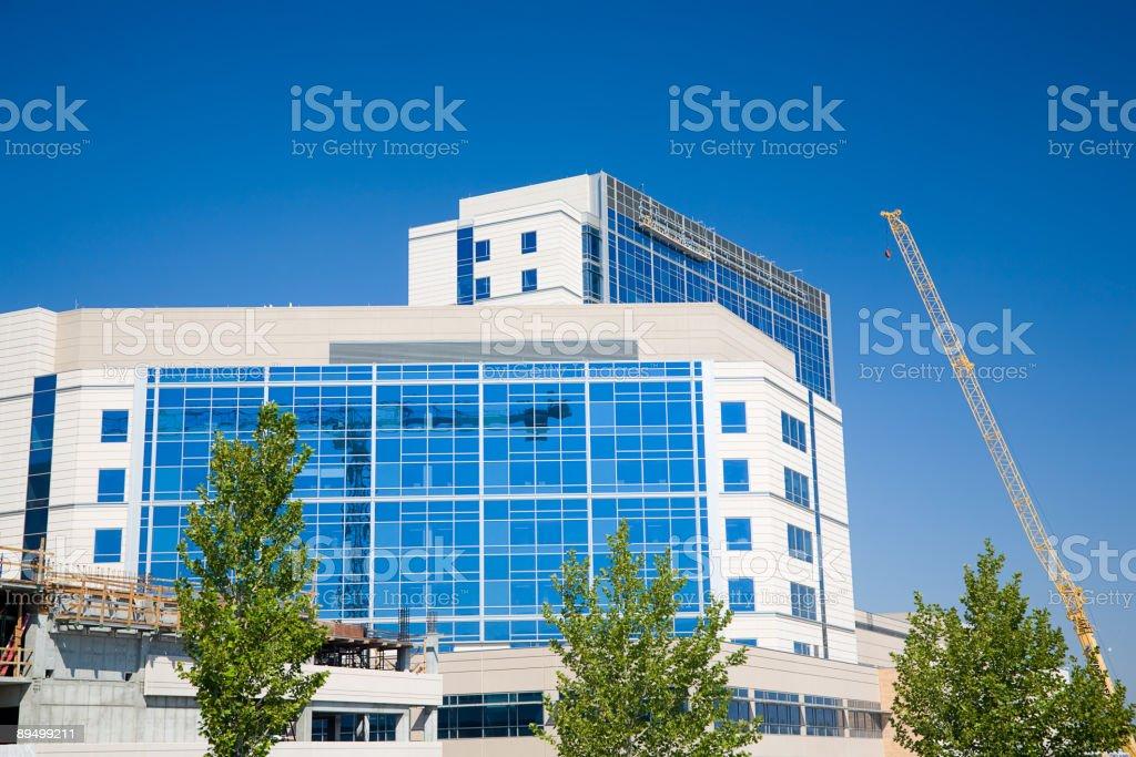 Construction Site Crane royalty free stockfoto