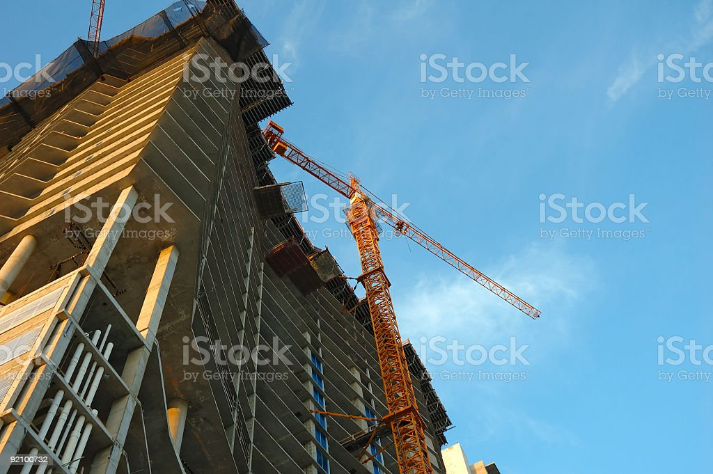construction site detail royalty-free stock photo