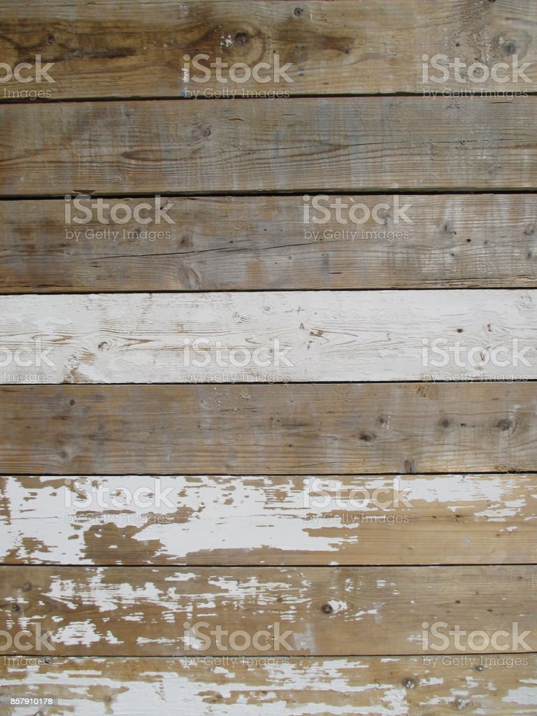 Construction site fence in wood stock photo