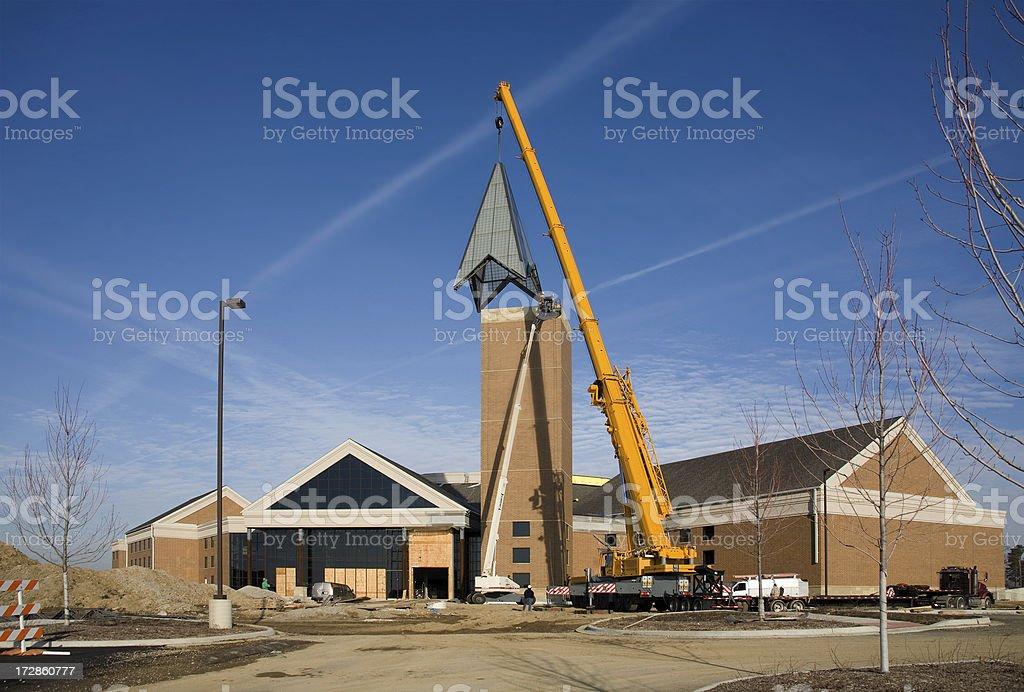 construction site horizontal royalty-free stock photo