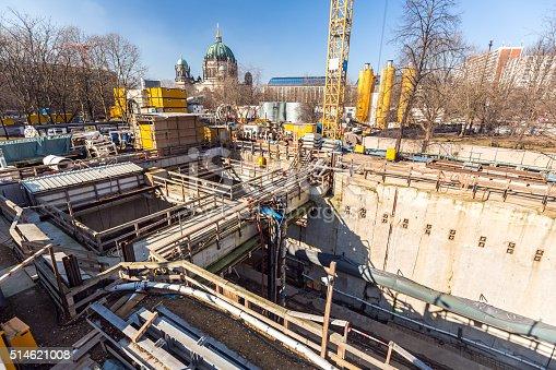 istock Construction site in Berlin 514621008