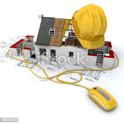 534196421istockphoto Construction site in yellow 93220353