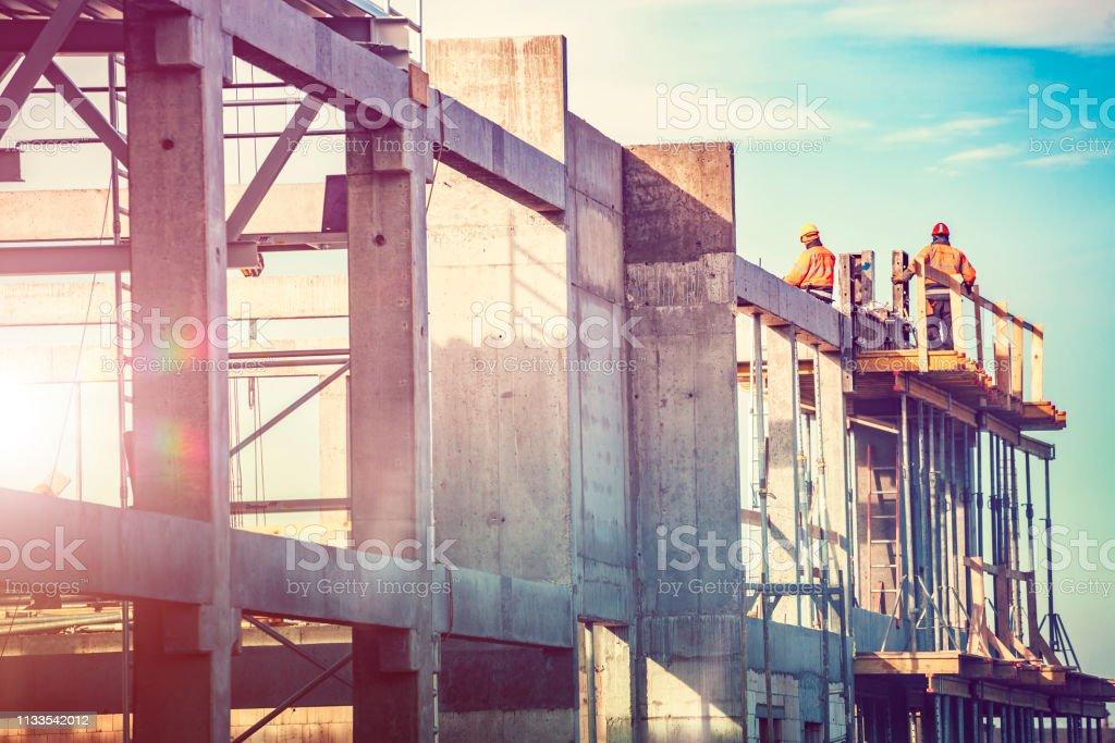 Chantier de construction - Photo de Adulte libre de droits