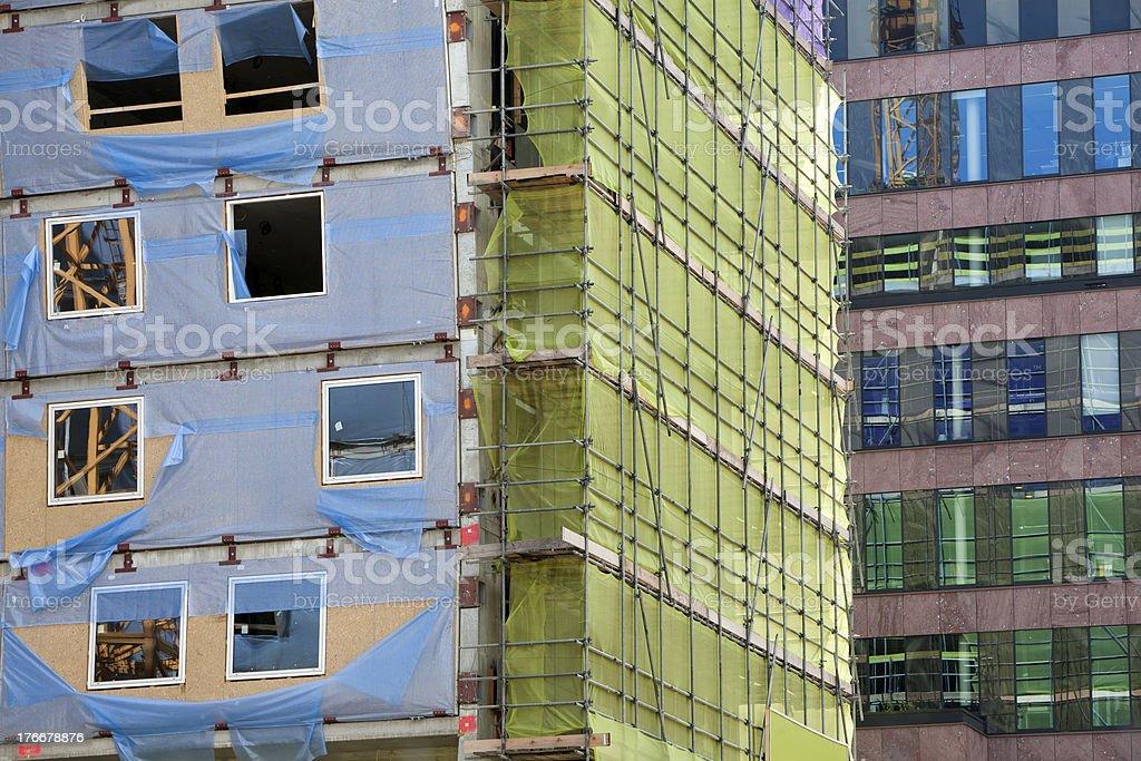 Solar de construcción foto de stock libre de derechos