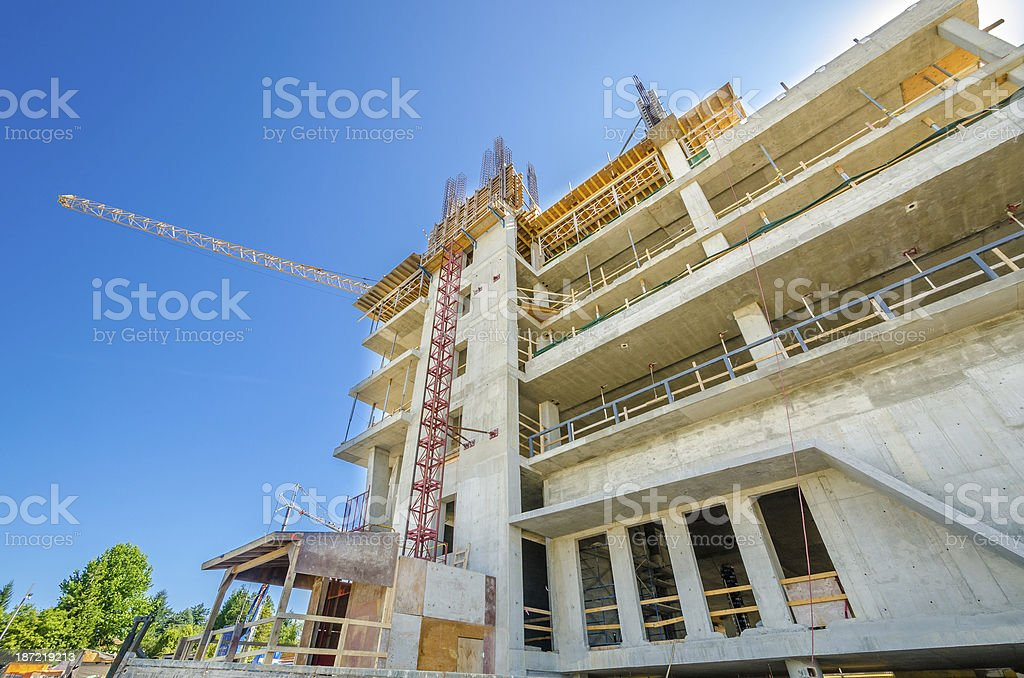 Construction Site. royalty-free stock photo