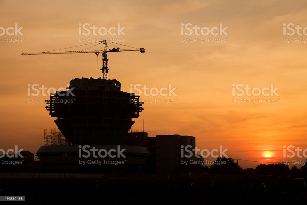 Construction Site stock photo