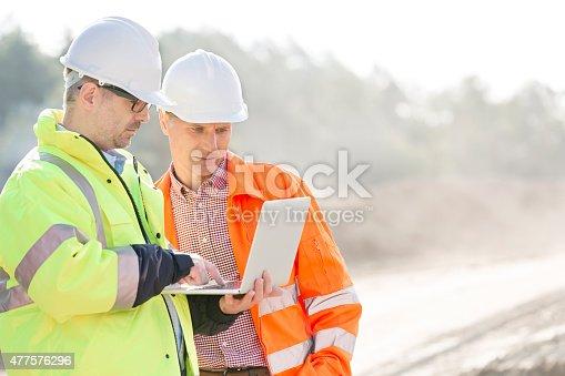 istock Construction Site 477576296