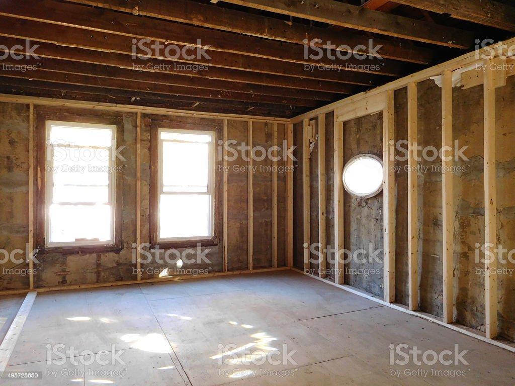 construction site stock photo