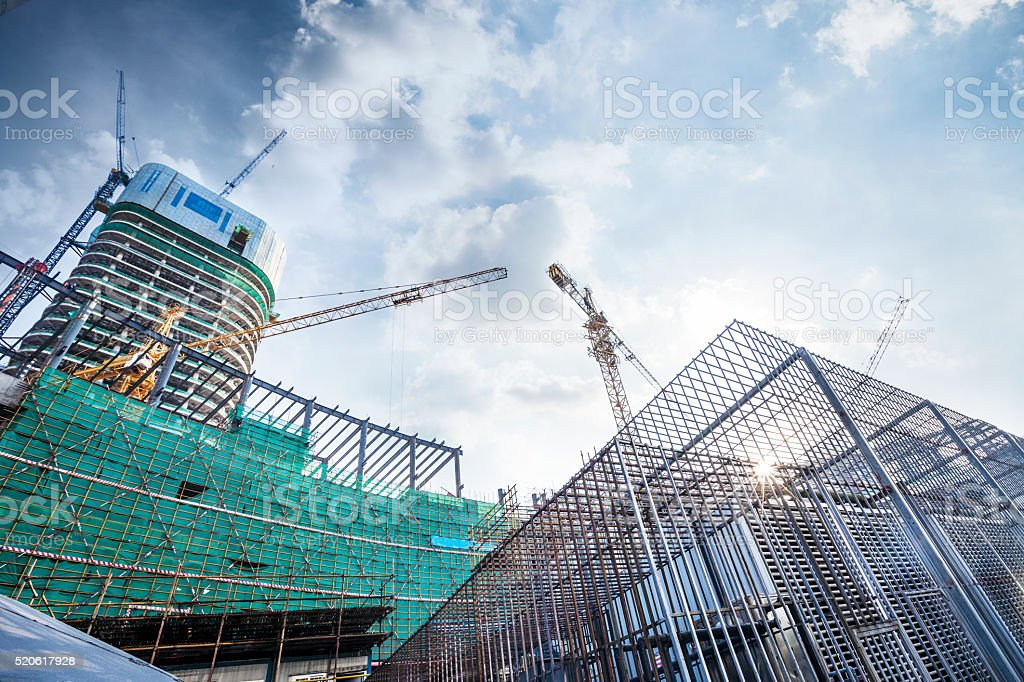 Construction site​​​ foto