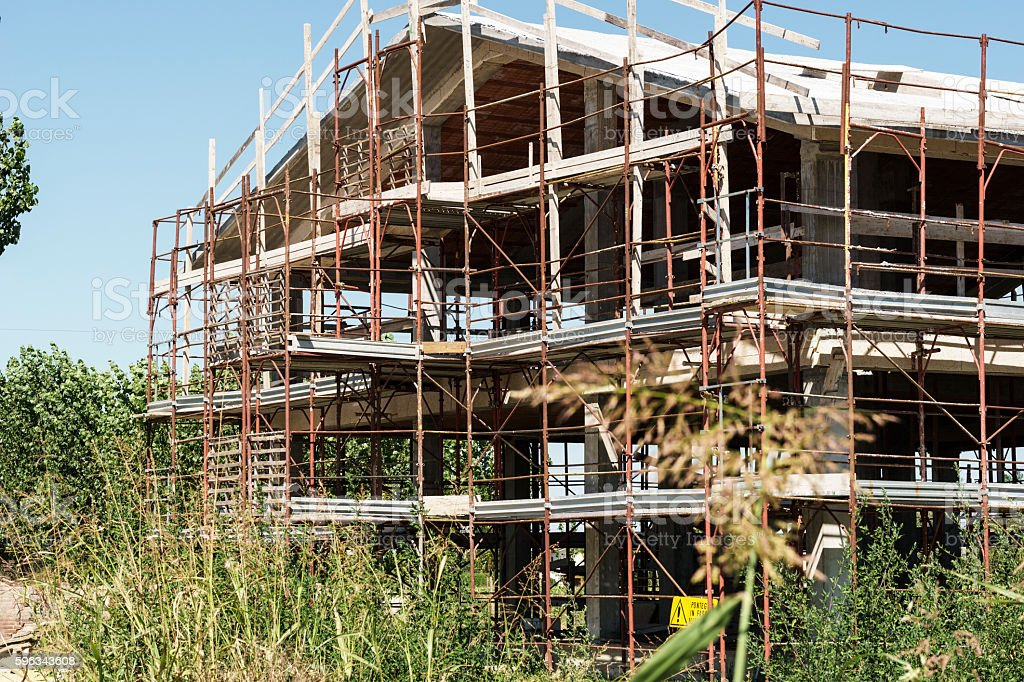 Baustelle  Lizenzfreies stock-foto