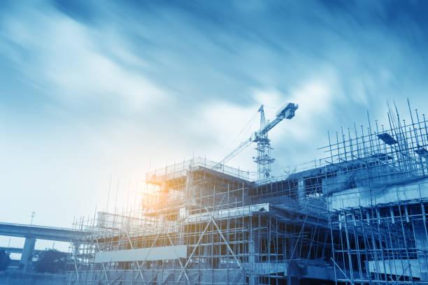 construction site - struttura edile foto e immagini stock