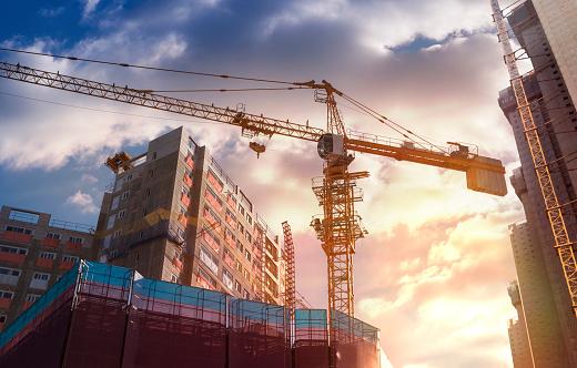 Photo libre de droit de Chantier De Construction banque d'images et plus d'images libres de droit de Affaires