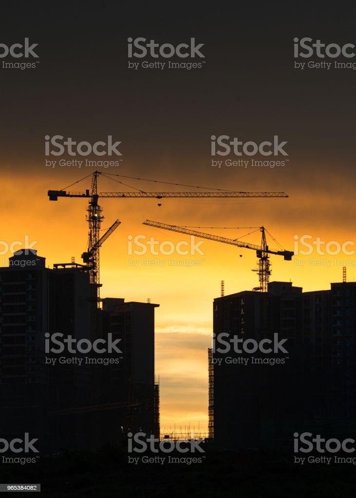 construction site zbiór zdjęć royalty-free