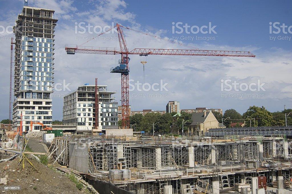 Cantiere di costruzione foto stock royalty-free
