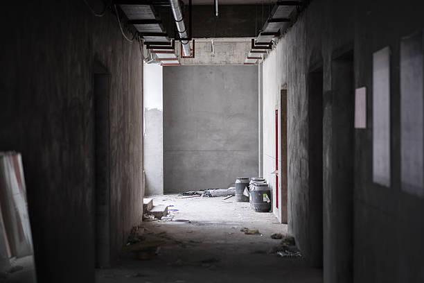 Baustelle Szene-Korridor – Foto