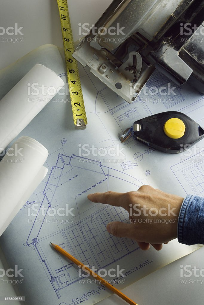 Construction Site Vt royalty-free stock photo