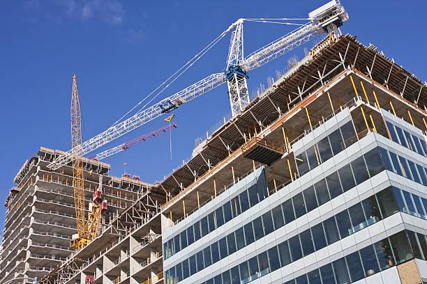 Construction site # 17 XL stock photo