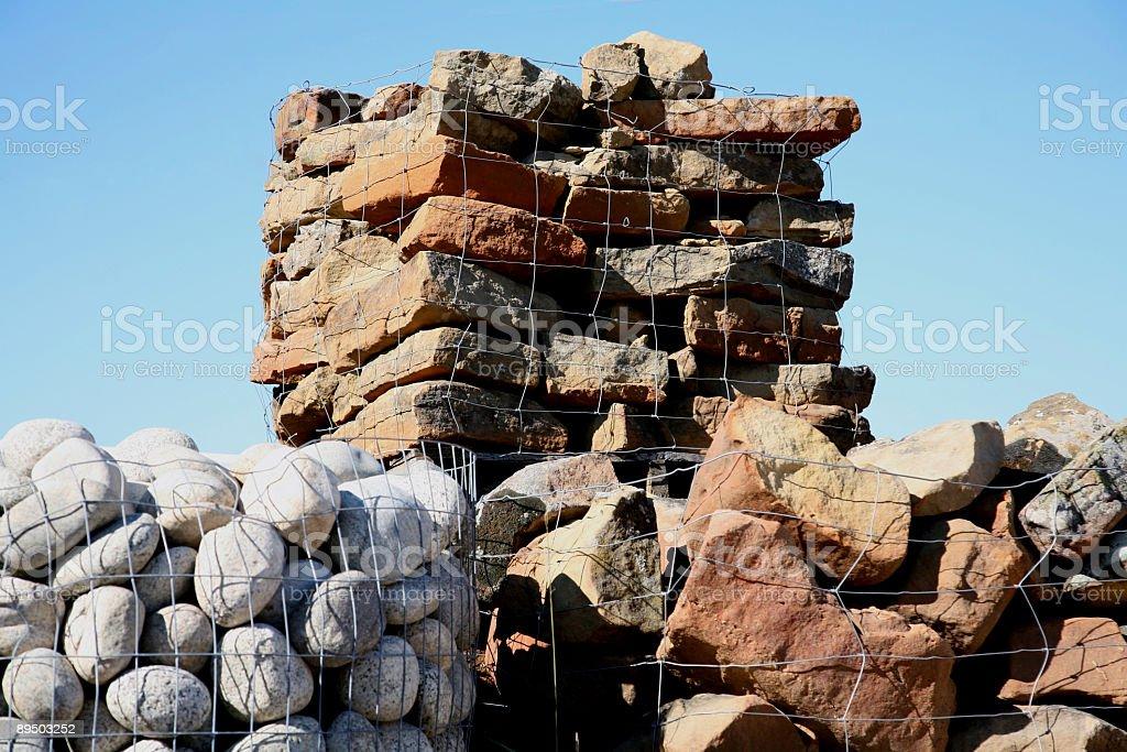 construction stone royalty-free stock photo