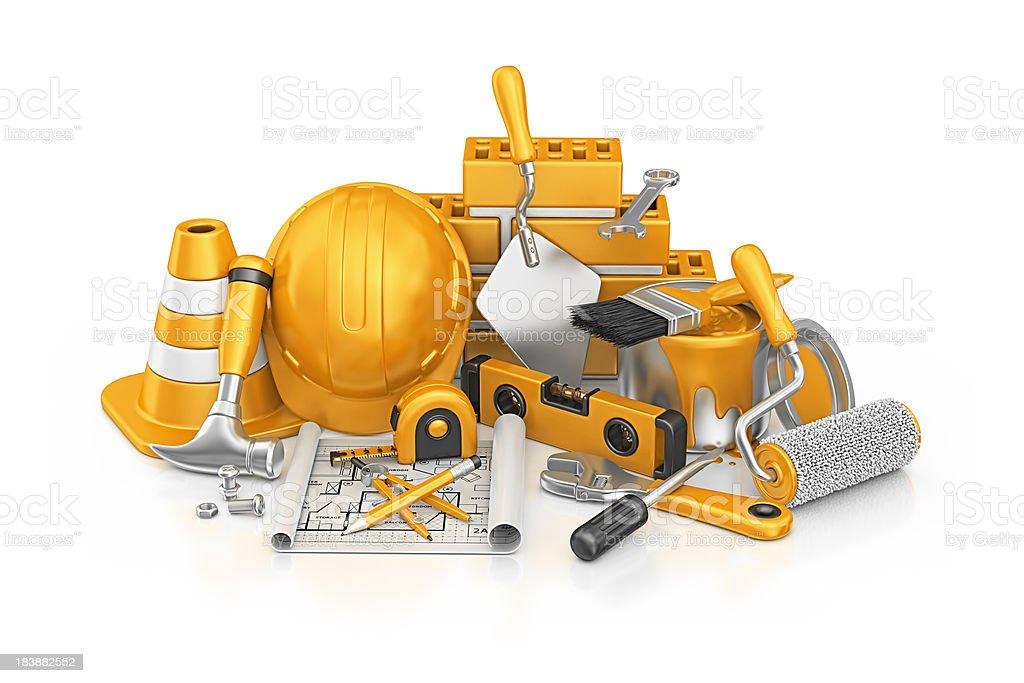 construction stuff royalty-free stock photo