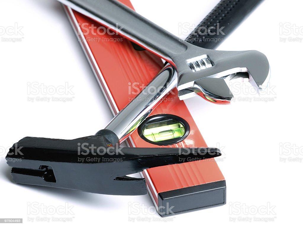 Construction tool royalty-free stock photo