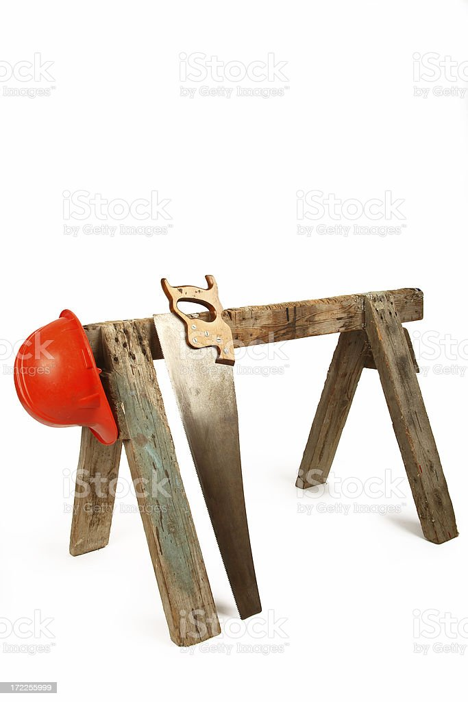 Construction Tools royalty-free stock photo