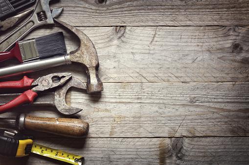 Handyman stock photos