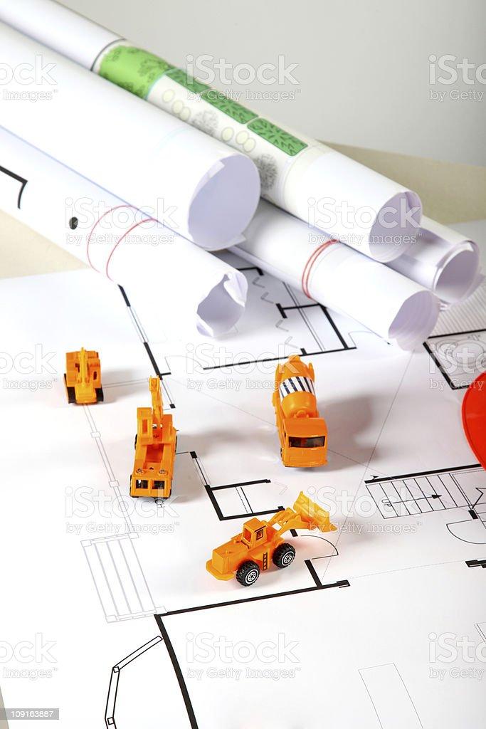 Construction toys royalty-free stock photo