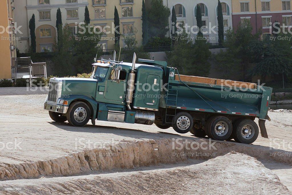construction truck royalty-free stock photo