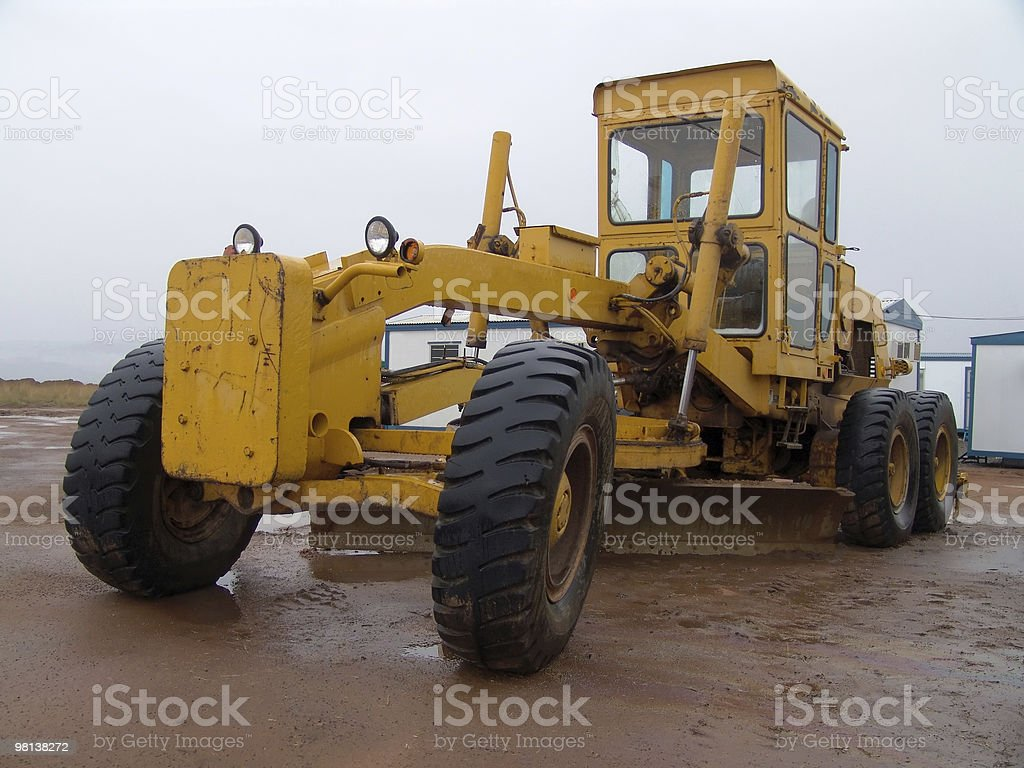 construction vehicle royalty-free stock photo