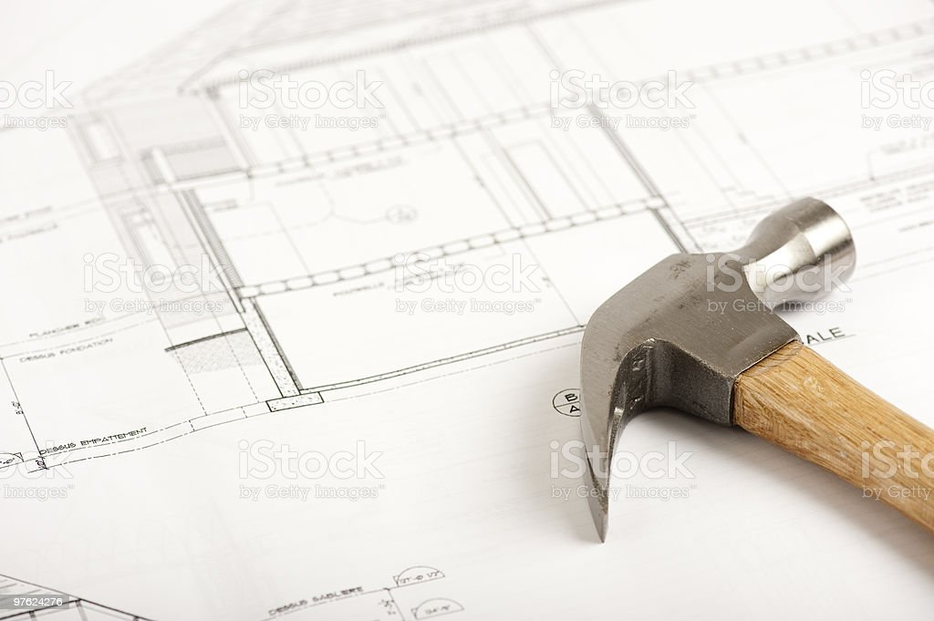 Construction Visual royalty-free stock photo