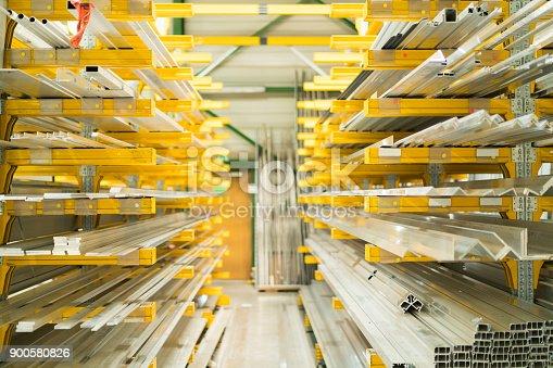 istock Construction - warehouse 900580826
