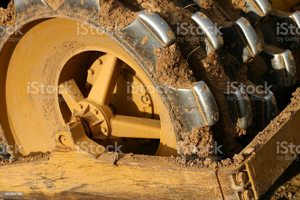 Construction Wheel Detail royalty-free stock photo