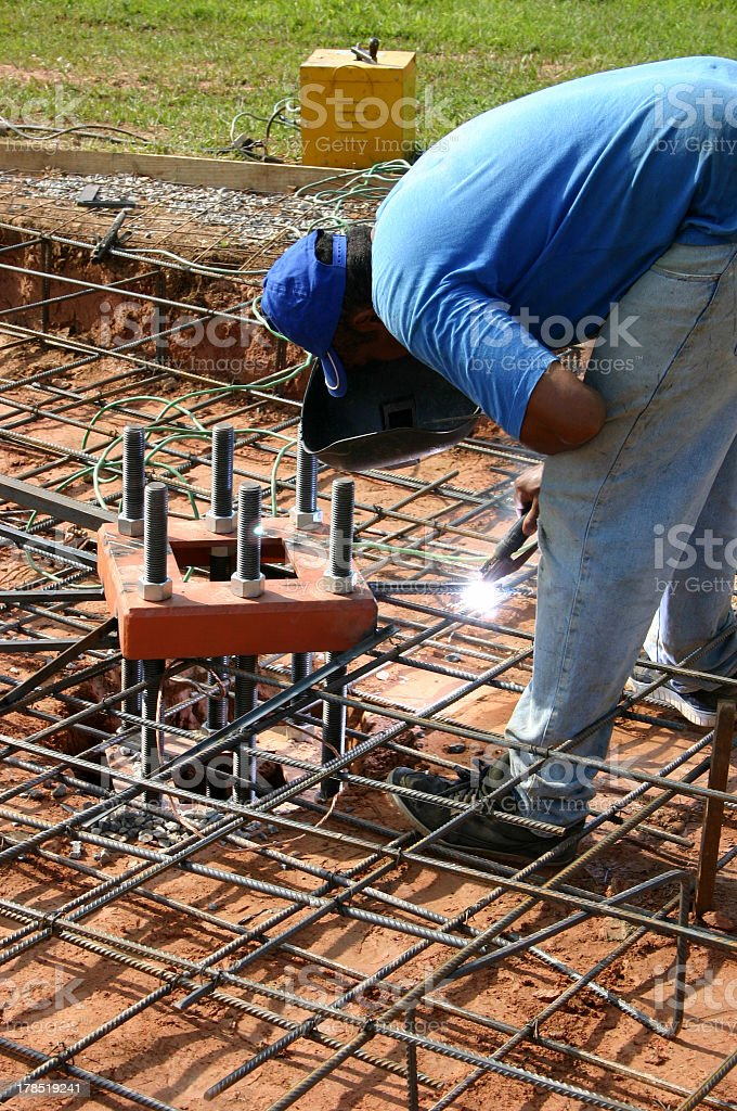 Construction worker 2 stock photo