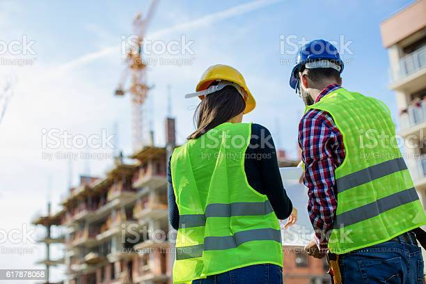 Construction worker and his manager checking the progress picture id617878058?b=1&k=6&m=617878058&s=612x612&h=a8soduynnmrpolmr3ggl6ufh2xtyzalyfk k9hq1g c=