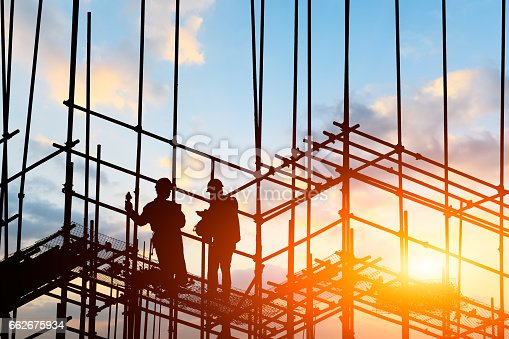 istock construction worker on construction site 662675934
