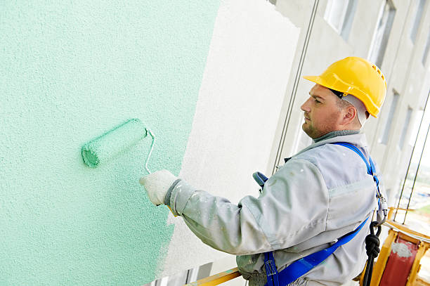 builder 正面玄関の画家の作品 - ペンキ屋 ストックフォトと画像