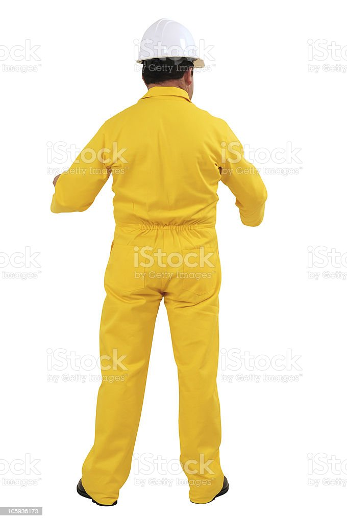 Construction worker. stock photo