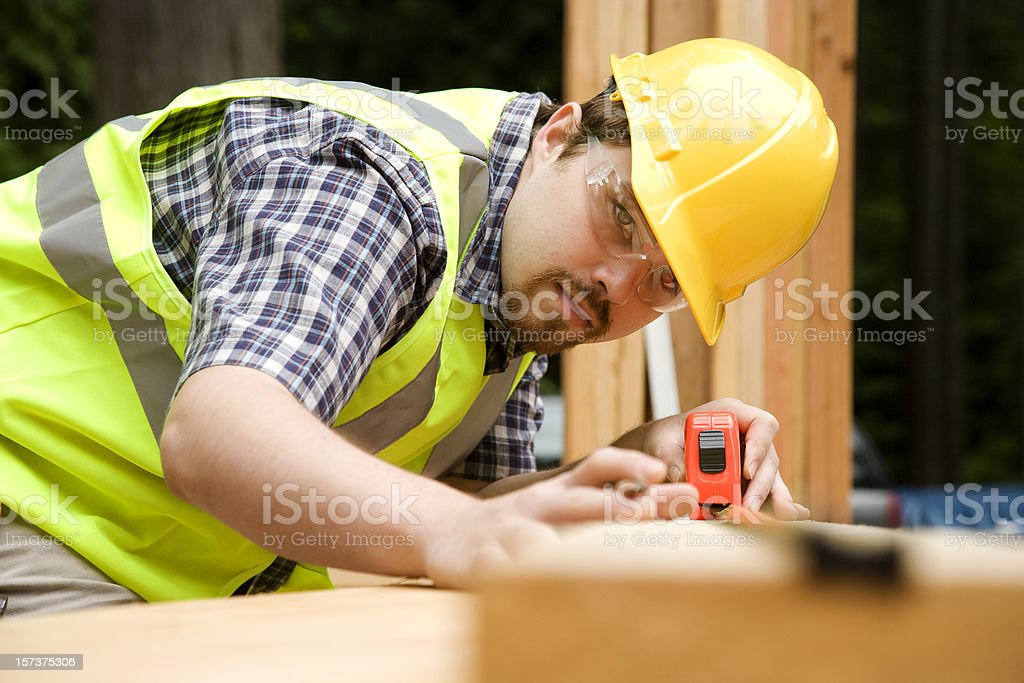 construction worker - Royalty-free Accuracy Stock Photo