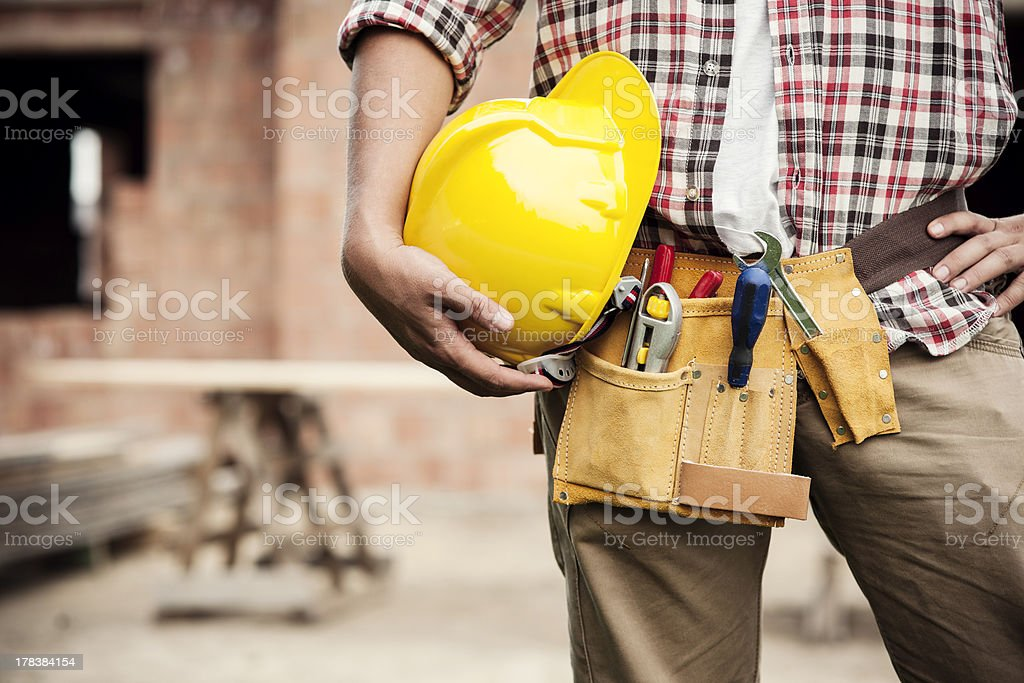Construction Worker Construction Worker Adult Stock Photo
