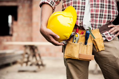Construction Worker Stock Photo - Download Image Now