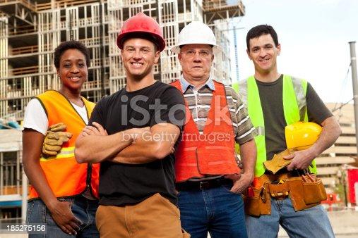 istock Construction Worker 185275156