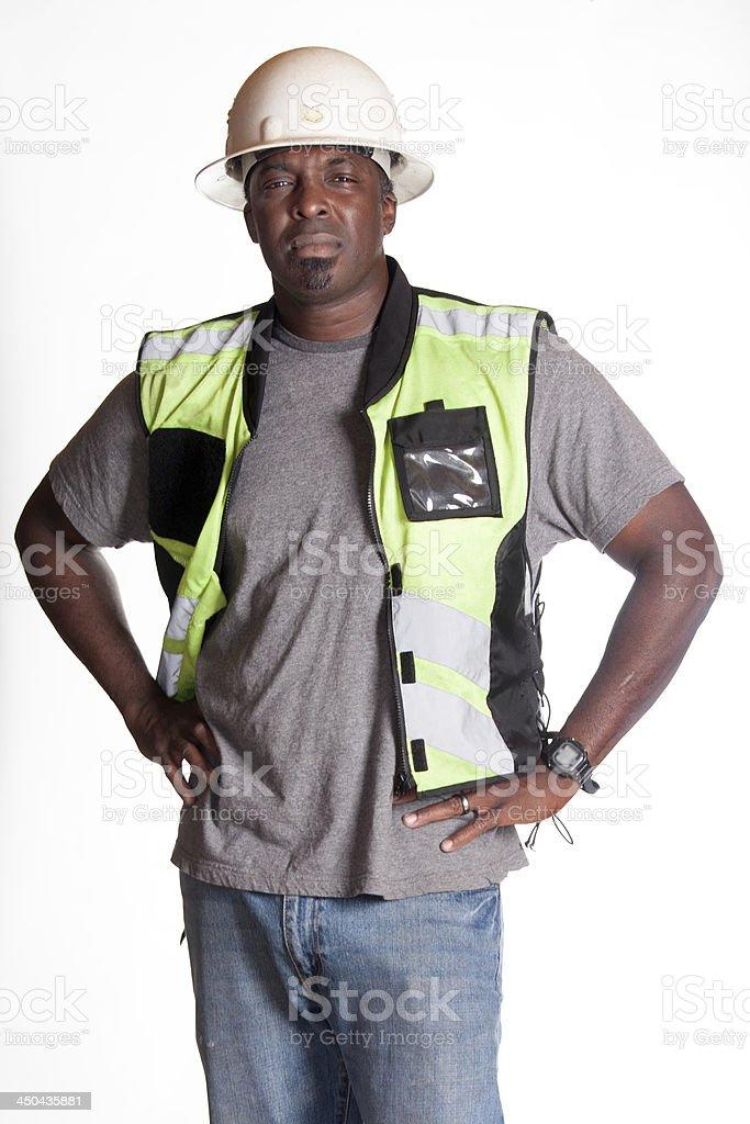 Trabajador de construcción - foto de stock