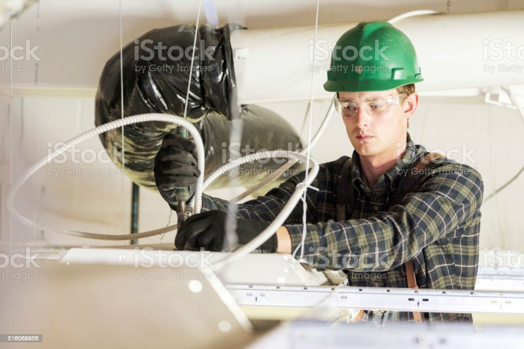 Construction Worker stock photo