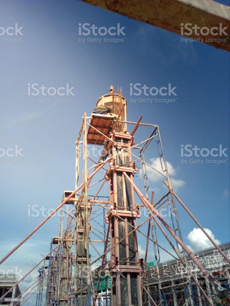 Construction worker. zbiór zdjęć royalty-free