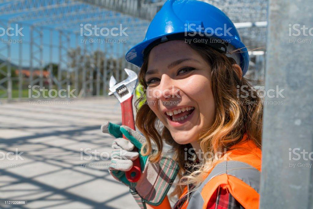 Trabalhadores da construção civil - foto de acervo