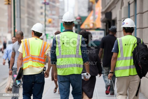 istock Construction workers 458623905